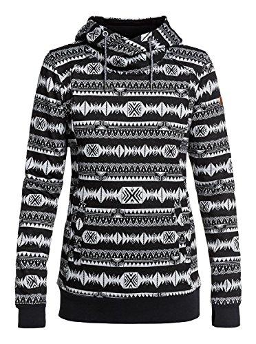Erjft03749 Dipsy Jacqu Técnica Sudadera Stripes Mujer Con True Black Roxy Capucha indie Para 1p0CqdOd