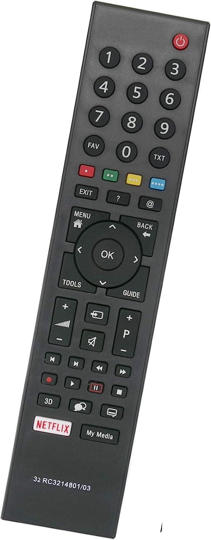ALLIMITY RC3214801 03 Reemplace el Control Remoto por Grundig TV ...