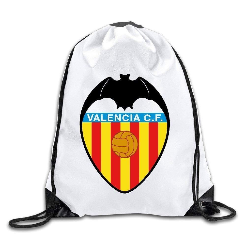 Etryrt Mochilas//Bolsas de Gimnasia,Bolsas de Cuerdas Valencia CF Drawstring Backpacks Sack Bag//Bags