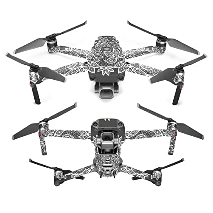 3e2c0a85df5 MightySkins Skin for DJI Mavic 2 Pro or Zoom - Floral Lace | Protective,  Durable
