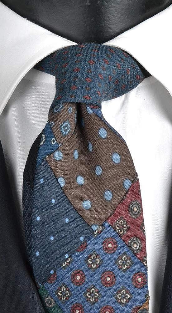 Graffeo - Corbata de lana para hombre, multicolor P452: Amazon.es ...