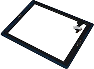 Touch Screen Digitizer Assembled with Home Button Strong Adhesive for iPad 2 2nd Generation A1395 A1396-Black