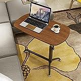 KSUNGB Bedside desk Mobile Lazy People Laptop desk Bed Writing desk Lift up and down Sofa desk, A