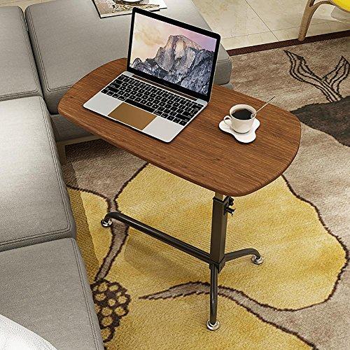 KSUNGB Bedside desk Mobile Lazy People Laptop desk Bed Writing desk Lift up and down Sofa desk, A by KSUNGB