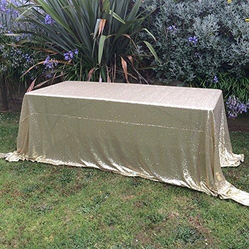 SoarDream sequin fabric tablecloth 60