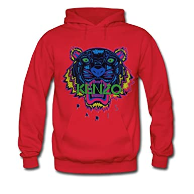 094d694f Pop KENZO Tiger Head For Mens Hoodies Sweatshirts Pullover Outlet: Amazon.co .uk: Clothing