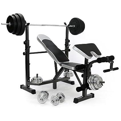 blackpoolal todos en un soporte de fitness peso banco abs Multi gimnasio Entrenamiento de mancuernas (