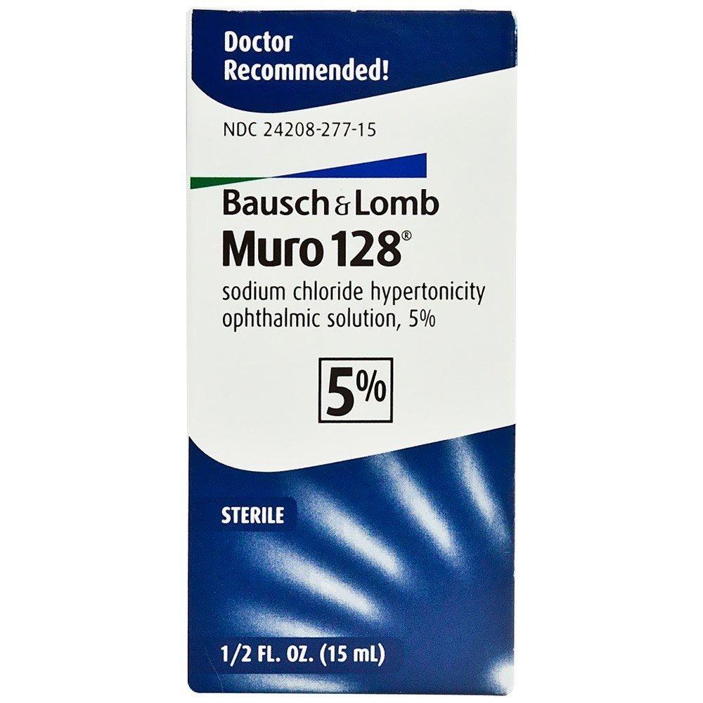 MURO 128 5 Percent SOLUTION 15MED L