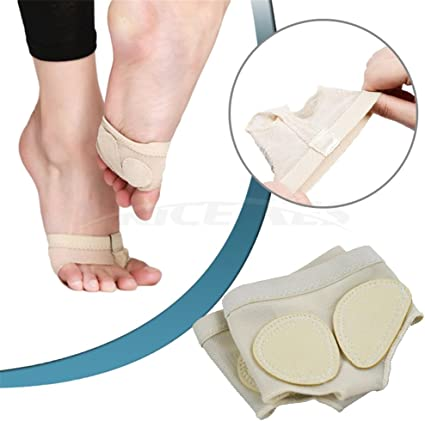 1 Pair Soft Sole Paw Ballet Foot Forefoot Cover Belly Dance Toe Feet Protect Pad