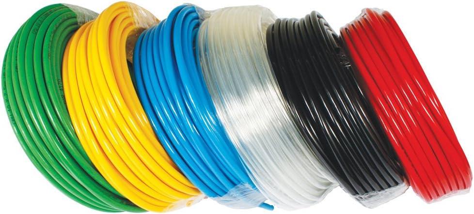 R HFS Polyurethane Pneumatic Tube 95A Metric Tubing Od:6Mm Id:4Mm 500Ft Orange