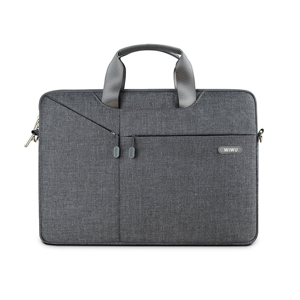 39,5cm schmutz Laptop Tasche 15-15,6 Zoll,WIWU Nylon wasserdichte Schultertasche mit Zubeh/ör-F/ächern und Tragegriff /& abnehmbarer Schultergurt f/ür Notebooks bis 15,6 Zoll und wasserabweisend