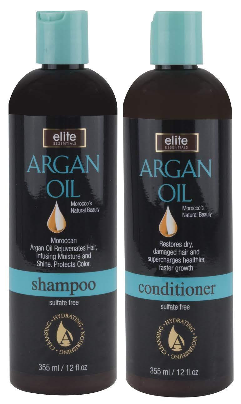 Morocco's Argan Oil Shampoo & Conditioner Set - Sulfate free
