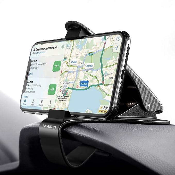 UGREEN Auto Handyhalterung Armaturenbrett Autohalterung Kompatibel mit iPhone 7, Huawei P20, iPhone X, Samsung S9 und andere