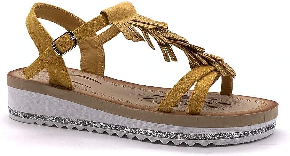 Amazon.it: scarpe con frange Sandali moda Sandali e