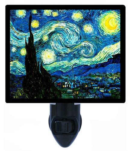 Old Masters Night Light, Starry, Starry Night, Vincent Van Gogh