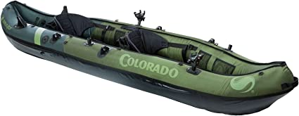 Amazon.com: Sevylor Coleman Colorado - Kayak de pesca para 2 ...