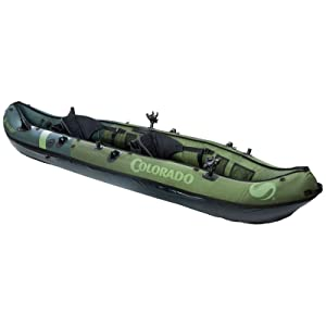 Best kayak for beginners - Sevylor Coleman Colorado 2-Person Fishing Kayak