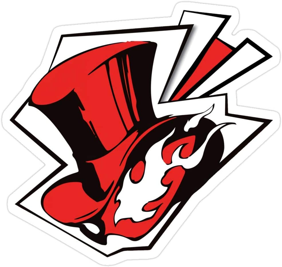 BreathNenStore Phantom Thieves Logo - Persona 5 Persona 5 Royal Stickers (3 Pcs/Pack) 10814228516716