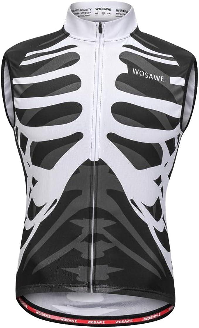 Fahrradweste Reflektierende Laufweste Radweste Atmungsaktiv Radsport Trikot für