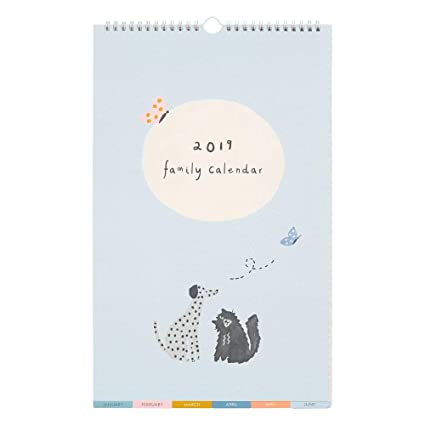 Amazon.com : kikki.K 2019 Family Wall Calendar Small: Sweet ...