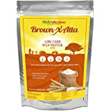 NutroActive BrownXatta, HIGH Protein & Low Carb Keto Friendly Flour 850 gm