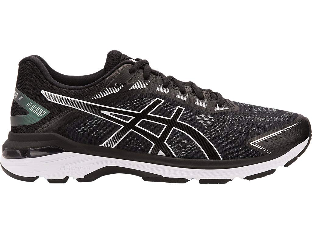 ASICS Men's GT-2000 7 (4E) Running Shoes, 10.5XW, Black/White by ASICS