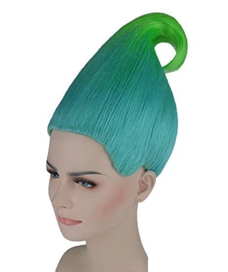 Blue/Green Trolls Wig Creek Trolls Movie Style (Kids): Amazon.es: Juguetes y juegos