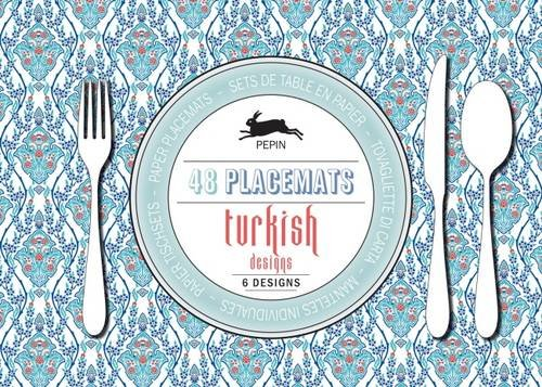Turkish Designs (Paper Placemats) (English, Spanish, French, Italian and German Edition)