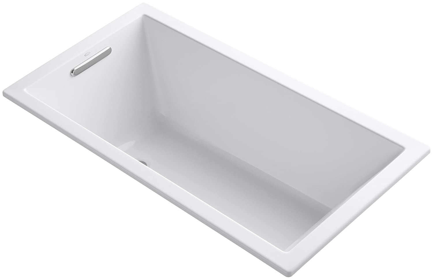 KOHLER K-1130-0 Underscore 5-Foot Acrylic Bath, White