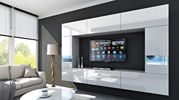 Perfekt HomeDirectLTD Future 29 Moderne Wohnwand, Exklusive Mediamöbel, TV Schrank,  Schrankwand, TV