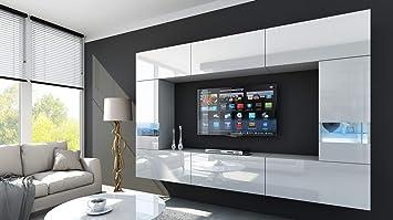 Homedirectltd Future 29 Moderne Wohnwand Exklusive Mediamöbel Tv