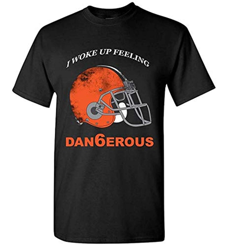 lasdmingliang I Woke Up Feeling Dangerous 6 Bake Mayfild T Shirt Black3X-Large