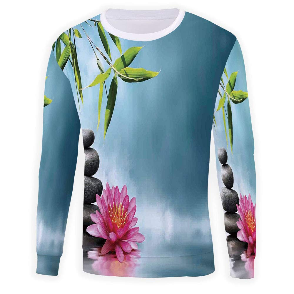MOOCOM Unisex Spa Decor Sweatshirts Crewneck