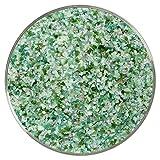 Green Goddess Designer Medium Frit Mix - 4oz - 90COE - Made From Bullseye Glass