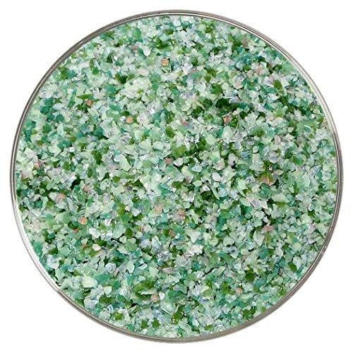 Green Goddess Designer Medium Frit Mix - 4oz - 90COE - Made From Bullseye Glass by New Hampshire Craftworks