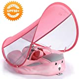 HECCEI Baby Swim Float with Canopy Solid Pool Infant Swim Trainer Swimming Training Lying Air Free Water Floats Non…