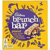 Cadbury Brunch Bar Peanut, 6 x 32g