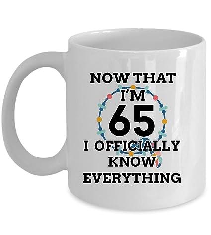 Amazon 65 Birthday Mug
