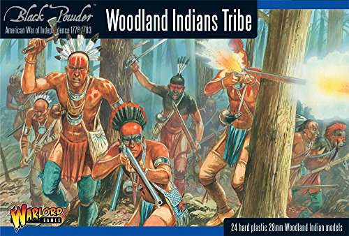 Black Powder - American War Of Independence - Woodland Indians Tribe (28mm) from Black Powder