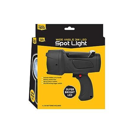 Tool Tech 53370 3 W LED Super Spot Light Torch