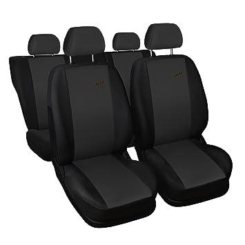 Dacia Duster Dunkel Grau Universal Sitzbezüge Sitzbezug Autositz Schonbezüge XR
