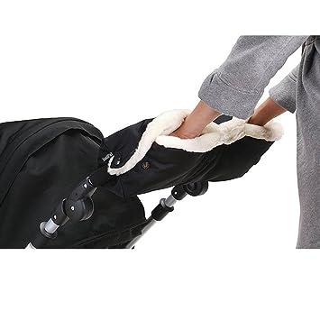 73e6c83a7fc3ae IntiPal Extra Dick Handwärmer Handschuhe Handmuff für Kinderwagen Buggy  Kinderwagenmuff (Schwarz)