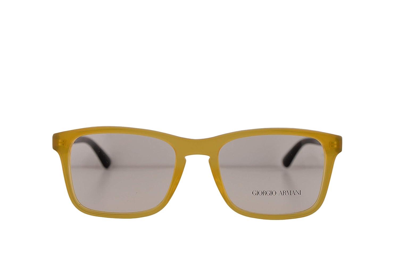 50e2cadc399 Giorgio Armani AR7158 Eyeglasses 54-19-145 Honey w Demo Clear Lens 5027 AR  7158  Amazon.co.uk  Clothing