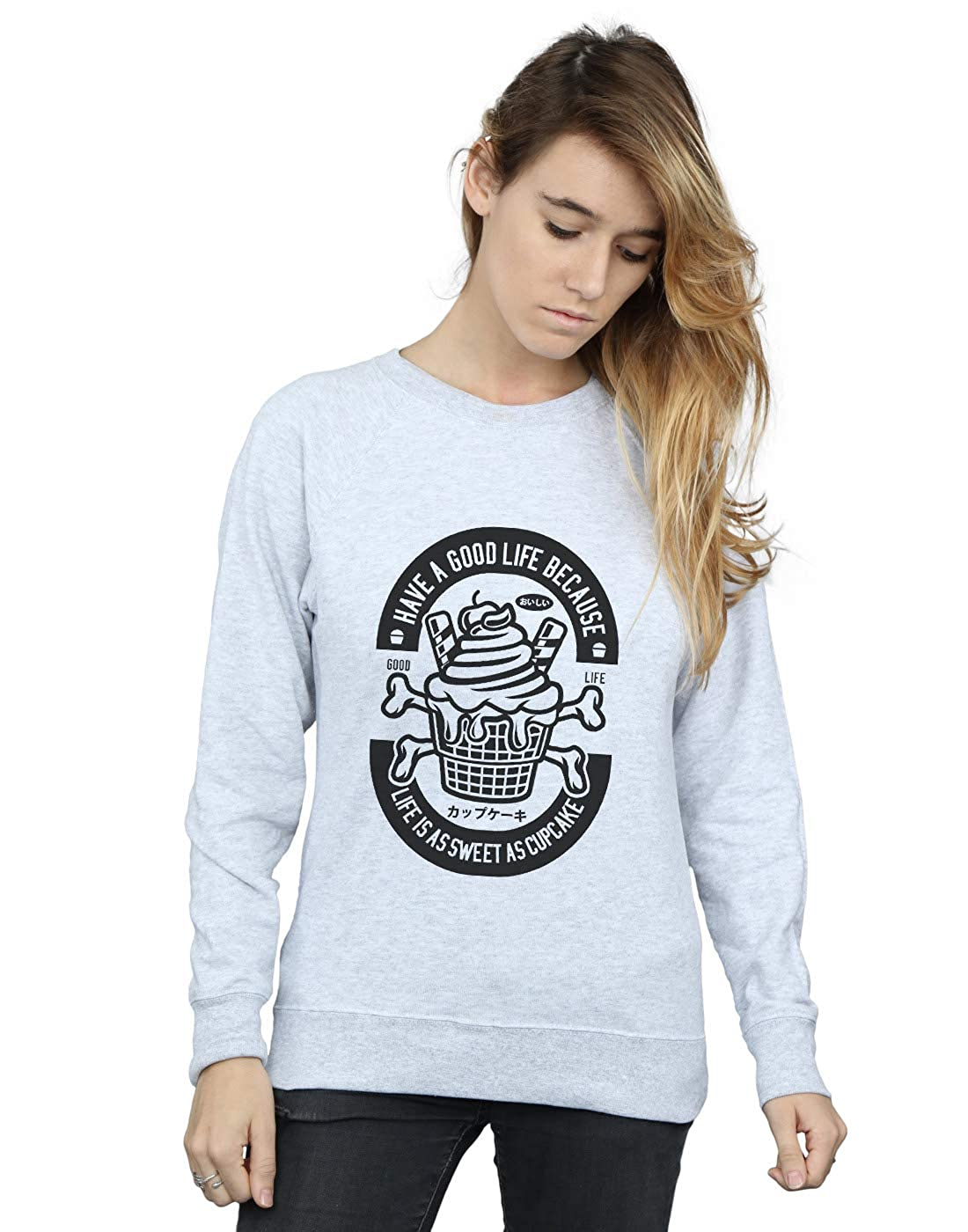 Absolute Cult Drewbacca Womens Good Life Cupcake Sweatshirt