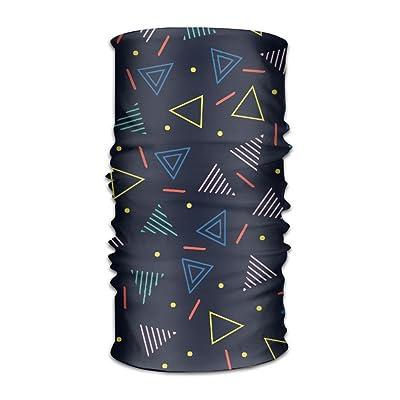 Unisex Bandanas Beanie Cap Turban Headscarf Sweatband Headwear Headscarf Abstract Triangle