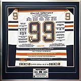 Wayne Gretzky White Career Jersey #99 of 99 - Signed - Edmonton Oilers - WGA/UDA