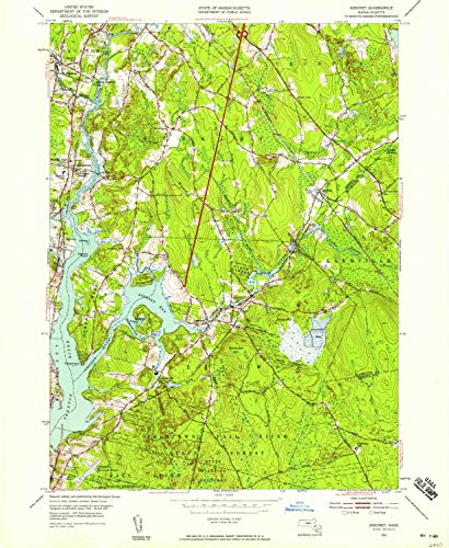 YellowMaps Assonet MA topo map, 1:24000 Scale, 7.5, used for sale  Delivered anywhere in USA