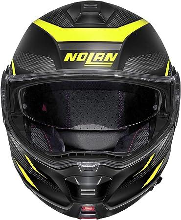 Nolan Herren N100 5 Lumière N Com Flat Black L Helmet L Auto