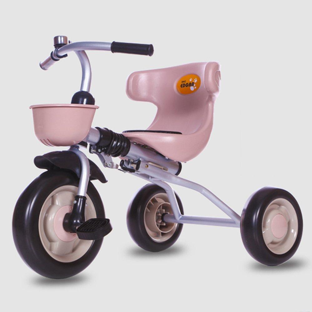 HAIZHEN マウンテンバイク スマートなデザインの子供たちの子供の折り畳み三輪車の三輪車の乗り物2-5歳 新生児 B07CG2G51Zブラウン ぶらうん