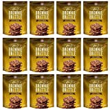 Brownie Brittle, 5 Ounce, Toffee Crunch (120 calories per ounce),(Pack of 12) (Packaging May Vary)